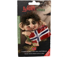 2004 magnet NyForm Troll Norway flag