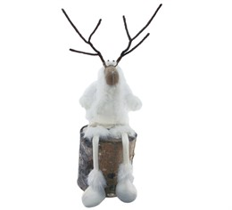 756577 reindeer with shorts and dangling legs