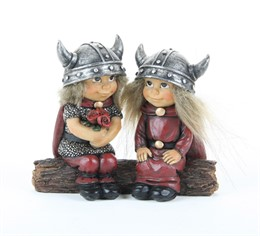 756789 Statuette Vikings on the trunk