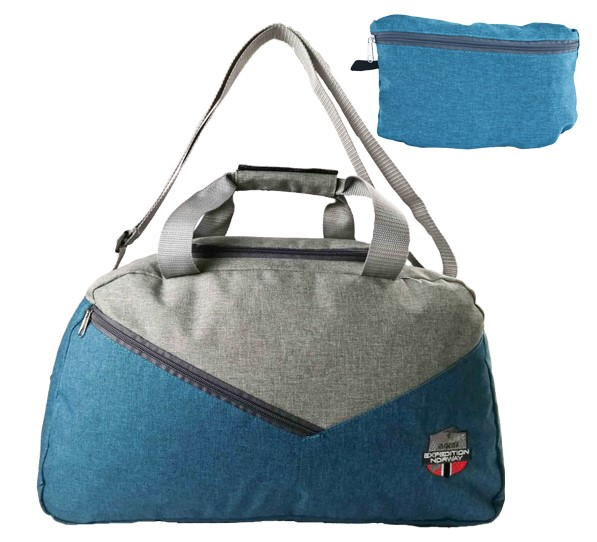 450221 bag pocket blue petrol/grey idrorepellente