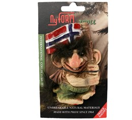 2006 magnet NyForm Troll and Norway flag