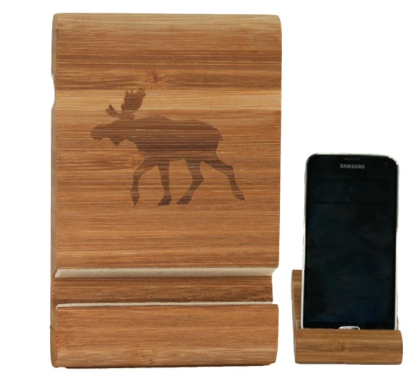 101219 holder smartphone in legno bio